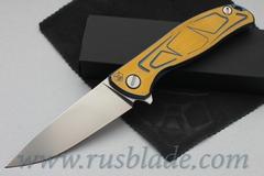 CUSTOM Shirogorov Exclusive Flipper 95 S30V S DUO TONE