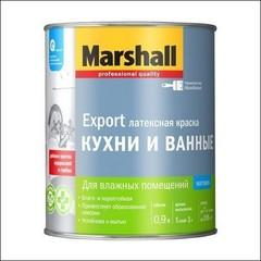 Краска в/д для стен и потолка Marshall влагостойкая BС (Прозрачный)