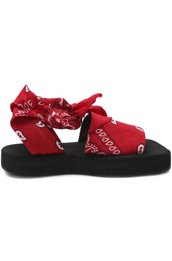 Сандалии «BANDANA RED»