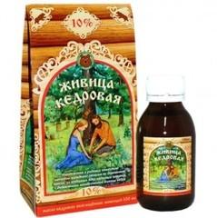 Масло Кедровое с живицей 10%, 100 мл. (Медведь)
