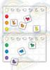Животные. Сортировочная таблица.Развивающие пособия на липучках Frenchoponcho (Френчопончо)