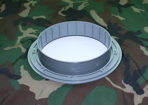 Фланец для отверстия под лунку ЛОТОС 200 (комплект 3 шт)