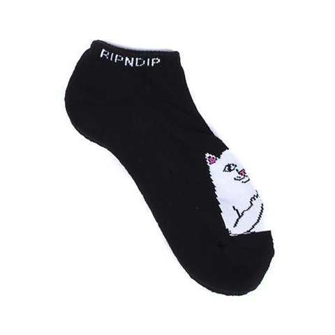 Короткие носки RIPNDIP Lord Nermal Ankle (Black)