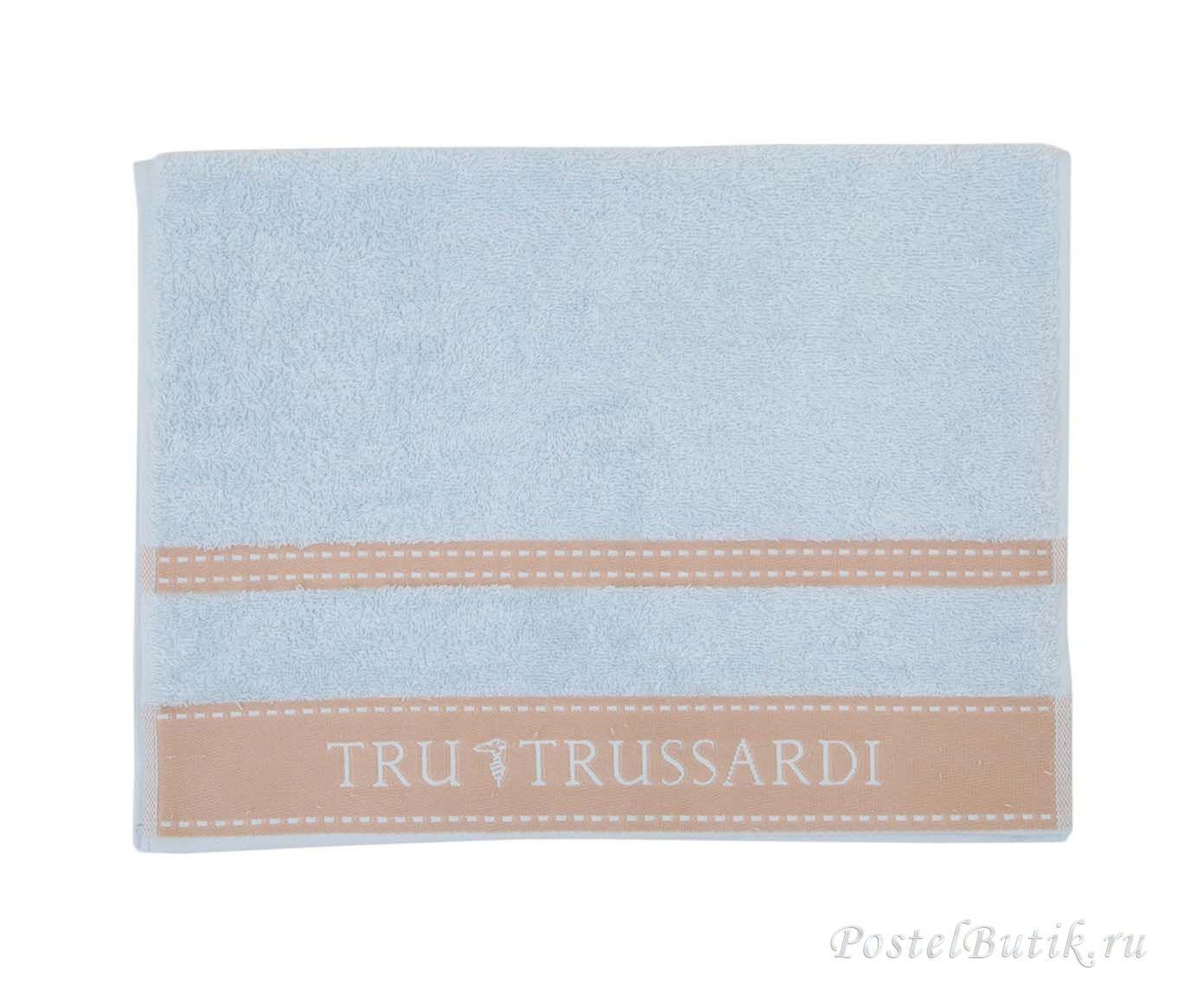 Набор полотенец 2 шт Trussardi Golf голубой
