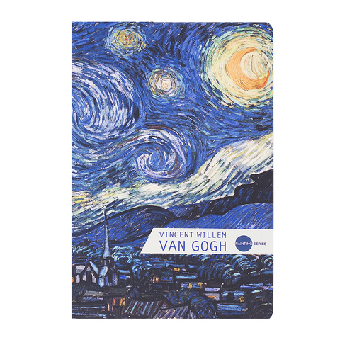 Тетрадь Van Gogh Night маленькая