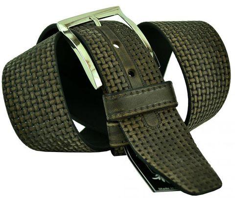 Мужской кожаный джинсовый ремень 45Stars-024