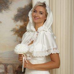 Венчальная накидка женская