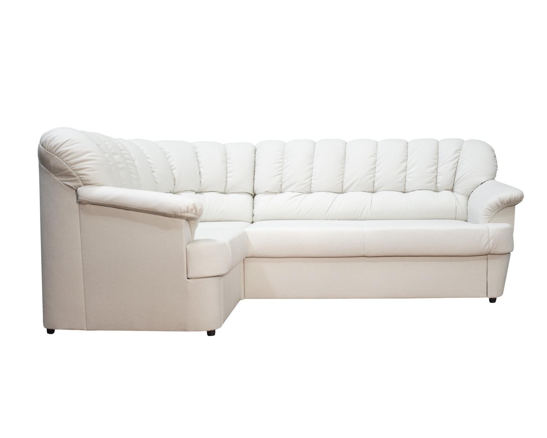 угловой диван Калифорния 1Яс2д с механизмом дельфин и с выдвижным ящиком для белья