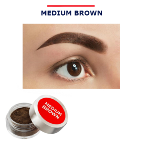 Henna Expert (Medium Brown) хна для бровей банка 3 гр.