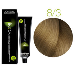 L'Oreal Professionnel INOA 8.3 (Светлый блондин золотистый) - Краска для волос
