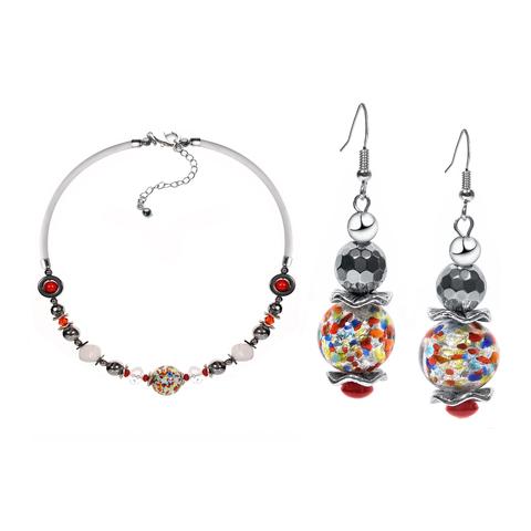 Комплект ожерелье и серьги Eleganza цвет ARLW