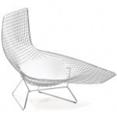 кресло Bertoia Asymetric Chaise
