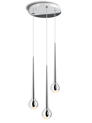 Replica Tobias Grau Falling Waters ( 3 lamps+silver )