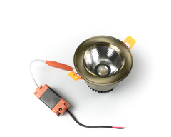 светильник точечный L8809COB-10W-Bronze