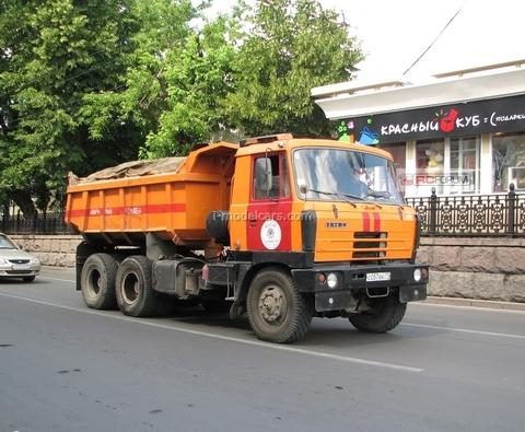 Tatra 815S1 tipper red-yellow 1:43 Start Scale Models (SSM)