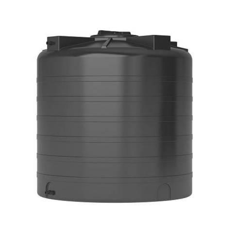 Бак для воды АКВАТЕК ATV 1000 (с поплавком, цвет чёрный)
