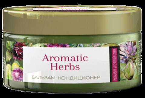 Romax Aromatic Herbs Бальзам-кондиционер Розмарин и Красный клевер для слабых, склонных к выпадению волос 300г