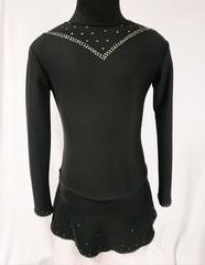 Платье из термоткани (сетка на груди)