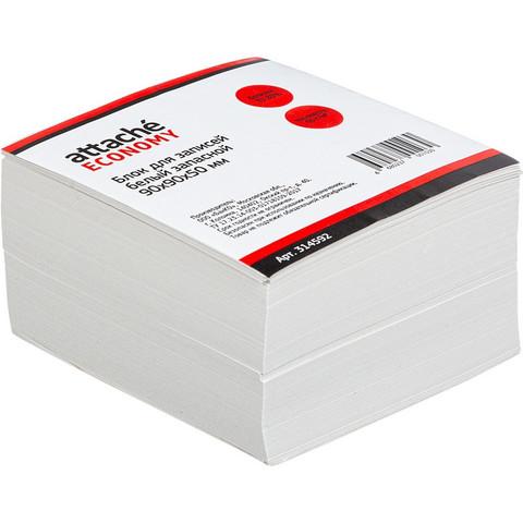 Блок-кубик ATTACHE ЭКОНОМ запасной 9х9х5 белый