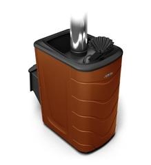 Банная печь Гейзер 2014 Carbon ДА ЗК терракота