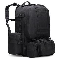 Тактический рюкзак 4 в 1 Cool Walker 001 Черный