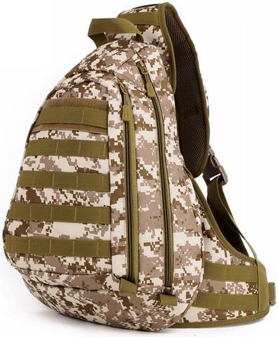 Тактический однолямочный рюкзак Protector Plus X-204 Desert