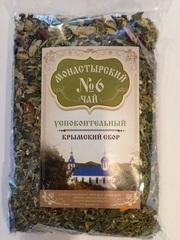 Чай Монастырский в картоне №6 успокоительный, 100 гр. (Крымский сбор)