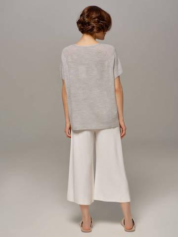 Женский серый пуловер LE TRICOT - фото 5