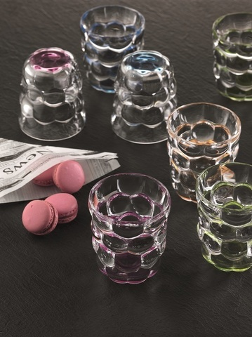 Набор из 2-х бокалов Tumbler Pink 330 мл артикул 100699. Серия Bubbles