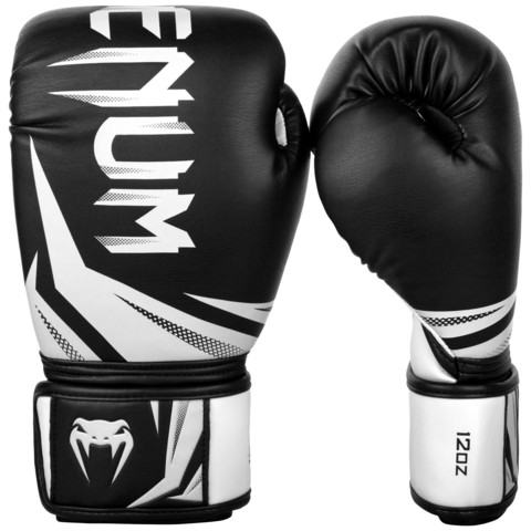 Перчатки для бокса Venum Challenger 3.0 Boxing Gloves-Black/White