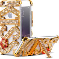 Чехол для iPhone 5/5s со стразами Swarovski Love Kiss
