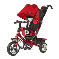 Велосипед Moby Kids Comfort 950D Red