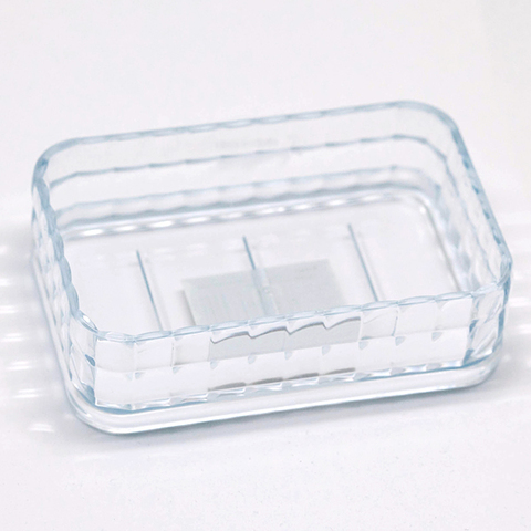 Пластиковая прозрачная мыльница