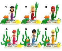 Minifigures The Little Mermaid Blocks Building
