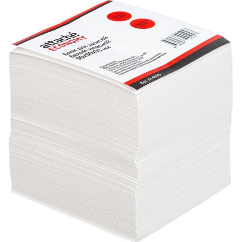 Блок-кубик ATTACHE ЭКОНОМ запасной 9х9х9 белый