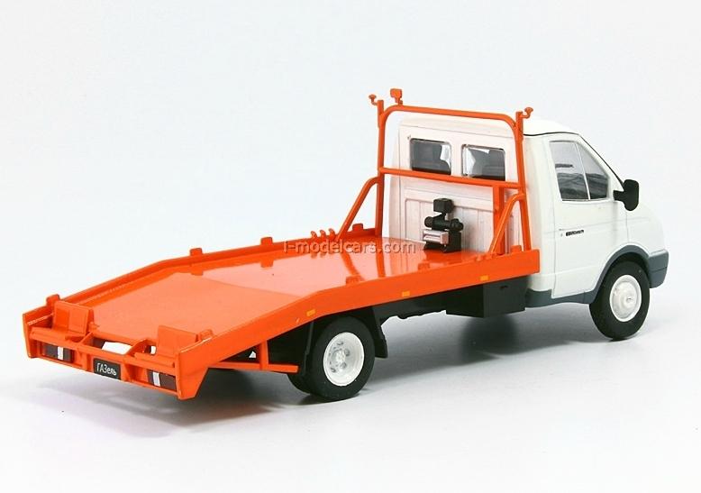 GAZ-3302 Gazelle Car Towing Russia 1:43 DeAgostini Service Vehicle #56