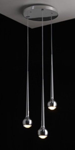 replica Tobias Grau Falling Waters ( 3 lamps+silver )