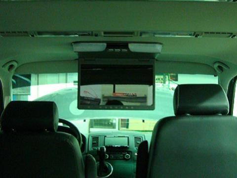 Автомобильный потолочный монитор AVIS Electronics AVS1520T (бежевый)