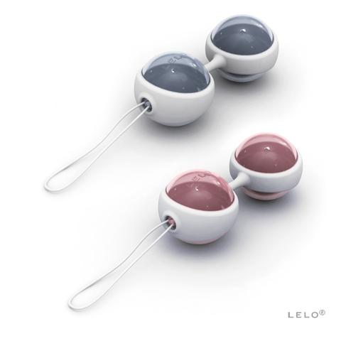 LELO Luna Beads Силиконовые вагинальные шары со смещенным центром (3,6.; вес до 74 гр)