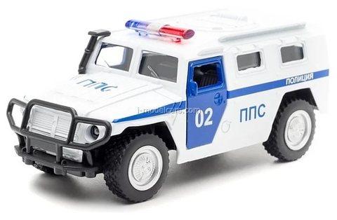 GAZ-2330 Tiger PPS Police Technopark 1:43