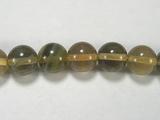 Бусина из флюорита желтого, шар гладкий 8мм