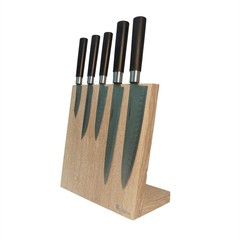 Настольная магнитная подставка для ножей Woodinhome KS002LSOW