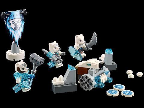 LEGO Chima: Лагерь Ледяных медведей 70230 — Ice Bear Tribe — Лего Чима