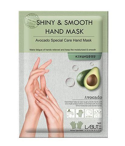 Маска для рук с экстрактом авокадо Shiny & Smooth Hand Mask от Labute