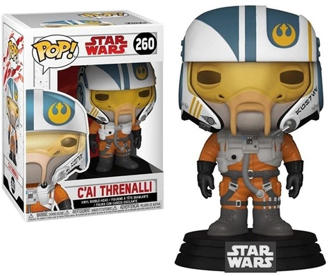 Фигурка Funko POP! Bobble: Star Wars: The Last Jedi: C'ai Threnalli 31793