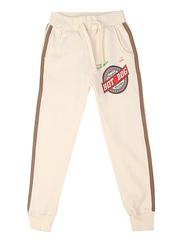 36825-1 брюки спортивные детские, молочные