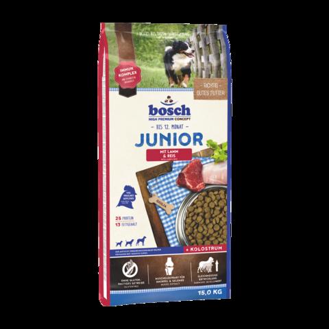 Bosch Junior Сухой корм для щенков с ягненком и рисом