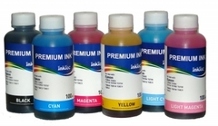 Комплект чернил для Epson T082/T081/T080 InkTec E0010, 6 цветов по 100 мл.
