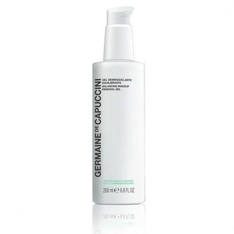 Germaine de Capuccini Options Balancing Makeup Removal Gel - Гель для демакияжа жирной и комбинированной кожи