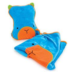 Берт SnooziHedz: детский дорожный набор подушка и плед